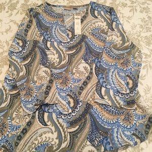 Women's 3/4 length sleeve shirt